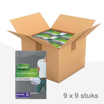 Depend-pants-normal-man-lxl-voordeelbox