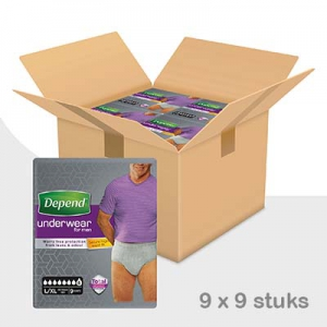 Depend-pants-super-man-lxl-voordeelbox