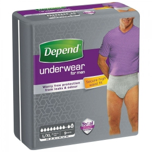 Depend pants voor mannen maximum