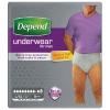 Depend pants voor mannen maximum