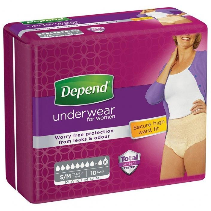 Depend pants voor vrouwen maximum